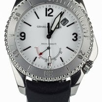 Girard Perregaux Sea Hawk Steel 43mm White United States of America, Illinois, BUFFALO GROVE