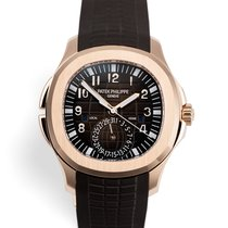 Patek Philippe Or rose Brun 40.8mm Aquanaut