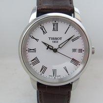 Tissot Classic Dream Acero 38mm Blanco Romanos