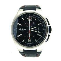 Alpina Racing Acero 45mm Negro Sin cifras