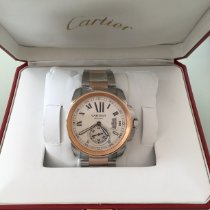 Cartier Calibre de Cartier Or/Acier 42mm Argent Romains France, Paris