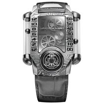 Christophe Claret Steel 40mm Manual winding mtr.fly11.130-138 new