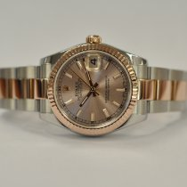 Rolex Rose gold Automatic Pink 31mm pre-owned Lady-Datejust