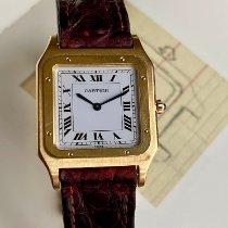Cartier Santos Dumont Or jaune 27mm Blanc France, Paris