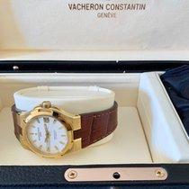 Vacheron Constantin Желтое золото Автоподзавод Белый Без цифр 37mm новые Overseas