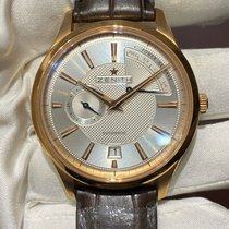 Zenith Captain Power Reserve Rose gold 40mm Silver No numerals