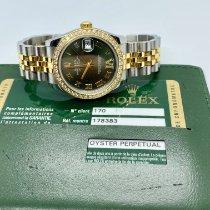 Rolex Lady-Datejust Gold/Stahl 31mm Grün Keine Ziffern Schweiz, lugano