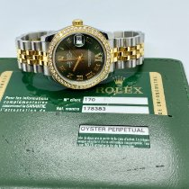 Rolex Lady-Datejust 178383 Gut Gold/Stahl 31mm Automatik Schweiz, lugano