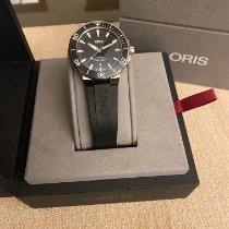 Oris Aquis Date 01 733 7730 4154-07 4 24 64EB Very good Steel 43.5mm Automatic India, Kochi
