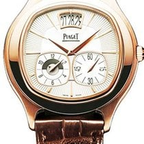 Piaget Emperador Rose gold 42mm Silver No numerals United States of America, Texas, Houston