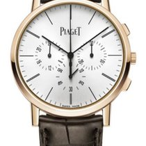 Piaget Altiplano Rose gold 41mm Silver No numerals United States of America, Texas, Houston