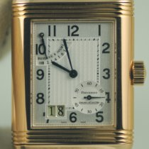 Jaeger-LeCoultre Reverso Grande Date Or rose 47mm Argent Arabes France, Saint Germain en Laye