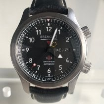 Bremont MB Steel 43mm Black Arabic numerals United Kingdom, Bristol