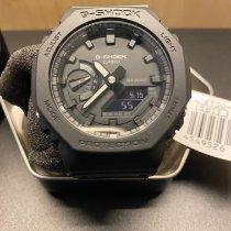 Casio Carbon Quartz Black No numerals 48.5mm new G-Shock