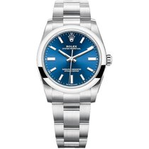 Rolex Oyster Perpetual 34 new Automatic Watch with original box and original papers 124200