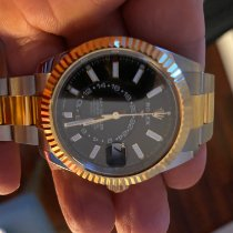 Rolex Sky-Dweller Gold/Steel 42mm Black No numerals United States of America, California, La Jolla