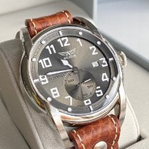 Poljot Steel 45mm Grey Arabic numerals