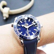 Omega Seamaster Planet Ocean Titanium 43.5mm Blue Arabic numerals