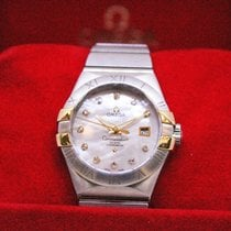Omega Constellation Ladies Gold/Steel 24mm Mother of pearl No numerals Malaysia