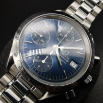 Omega Steel 39mm Blue No numerals