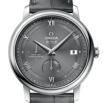 Omega De Ville Prestige Steel 39.5mm Grey Roman numerals United Kingdom, London