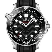 Omega Seamaster Diver 300 M Steel 42mm Black No numerals United Kingdom, London