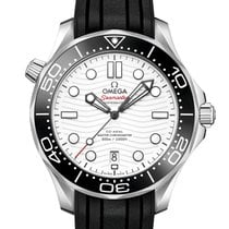 Omega Seamaster Diver 300 M Steel 42mm White No numerals United Kingdom, London