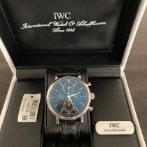 IWC Portofino Chronograph Stahl 42mm Schwarz Keine Ziffern Deutschland, Mainburg