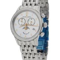 Maurice Lacroix Les Classiques Phases de Lune neu Quarz Chronograph Uhr mit Original-Box und Original-Papieren LC1087-SD502-121