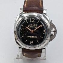 Panerai Luminor Marina 1950 3 Days Acero 47mm Negro Arábigos