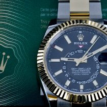 Rolex Sky-Dweller Gold/Steel 42mm Black No numerals United States of America, Michigan, Detroit