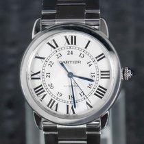 Cartier Ronde Croisière de Cartier Steel 36mm White Roman numerals