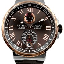 Ulysse Nardin Gold/Steel 43mm Automatic 1185-126-3T/45 pre-owned United States of America, Texas, Houston