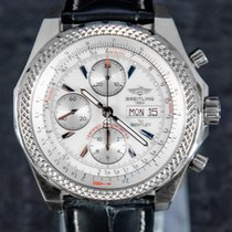 Breitling pre-owned Automatic 45mm Silver Sapphire crystal
