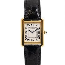 Cartier Tank Solo W5200024 Sehr gut Roségold 30mm Quarz