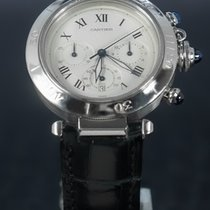 Cartier Pasha Otel 38mm Argint Roman