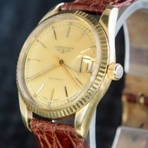 Longines Yellow gold 36mm Automatic 5221 pre-owned