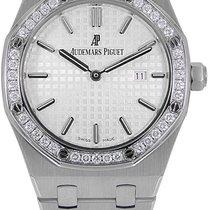 Audemars Piguet Royal Oak Lady новые 2020 Кварцевые Часы с оригинальными документами и коробкой 67651ST.ZZ.1261ST.01