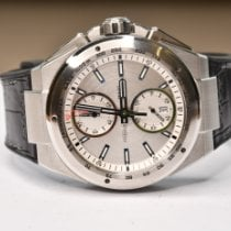 IWC Ingenieur Chronograph Racer Steel 45mm Silver No numerals