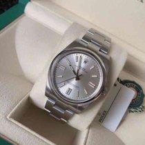 Rolex Stahl Automatik m126000-0004 Silver neu