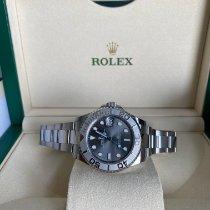Rolex Yacht-Master 37 Steel 37mm Grey No numerals UAE, Abu Dhbai