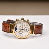 IWC Da Vinci Chronograph IW3735 Very good Yellow gold 29mm Quartz