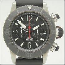 Jaeger-LeCoultre Titanio Automático Negro usados Master Compressor Diving Chronograph GMT Navy SEALs