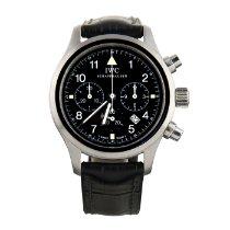IWC Pilot Chronograph Acero 36mm Negro Arábigos España, Madrid