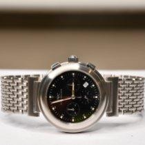 IWC Da Vinci Chronograph Сталь 37mm Черный Без цифр