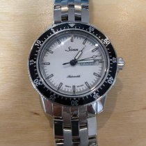 Sinn 104 Steel 41mm White No numerals United States of America, California, ManhattanBeach