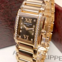 Patek Philippe Twenty~4 Rose gold 22mm Brown Roman numerals