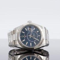 Rolex Sky-Dweller Acier 40mm Bleu Sans chiffres