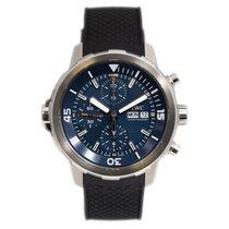 IWC Aquatimer Chronograph Acier 44mm Bleu Sans chiffres