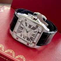Cartier Santos 100 Steel 38mm White Roman numerals United States of America, New Jersey, Fort Lee